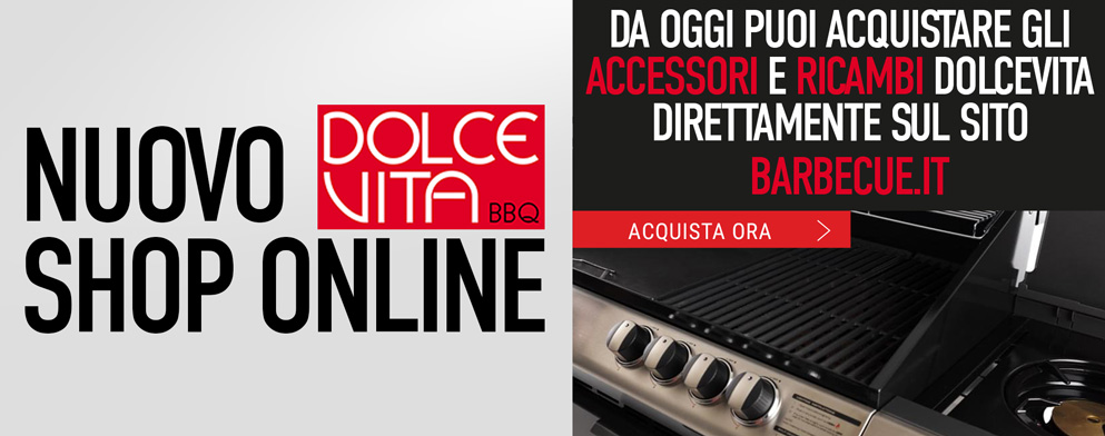 Dolcevita BBQ - Nuovo shop online